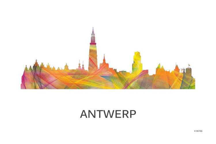 Antwerp, Belgium Skyline WB1