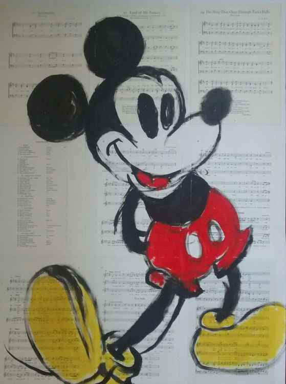Mickey Mouse. -