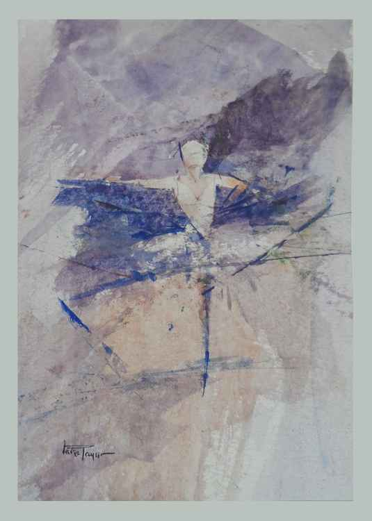 Ballet Dancer 2 (Mini Painting)