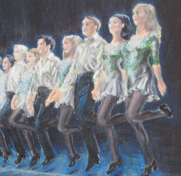 St Patrick's Day at the Leinster Dance - Image 0