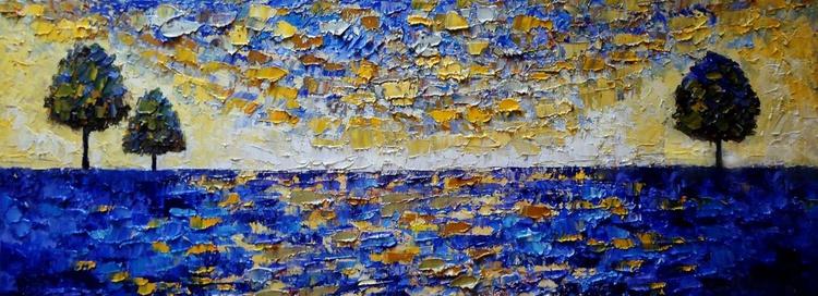 Carpet of blue - Image 0