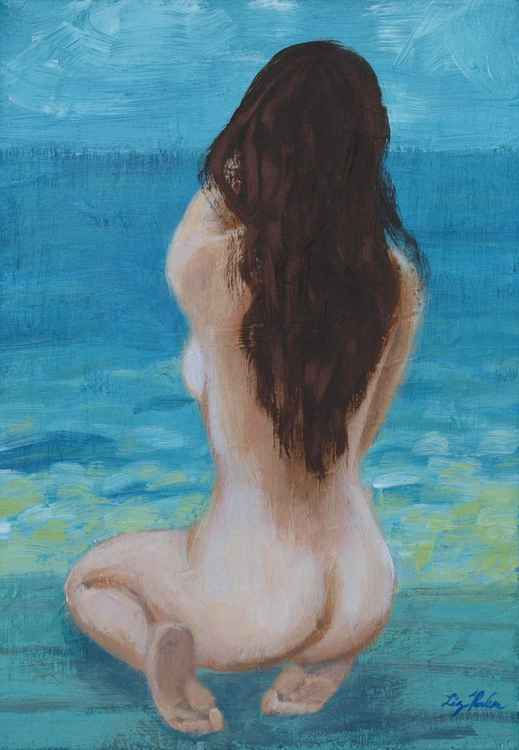 Nude with Sea -
