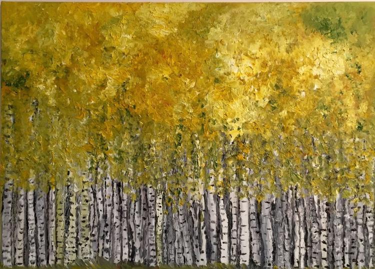 Birch treas/Oil 2013 - Image 0