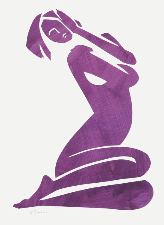 Esther in Purple - Image 0