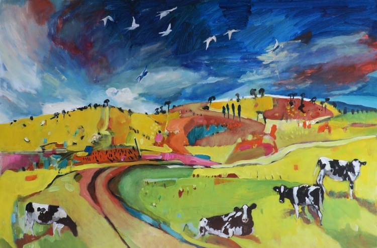 Farmland with Cows 2 - Image 0