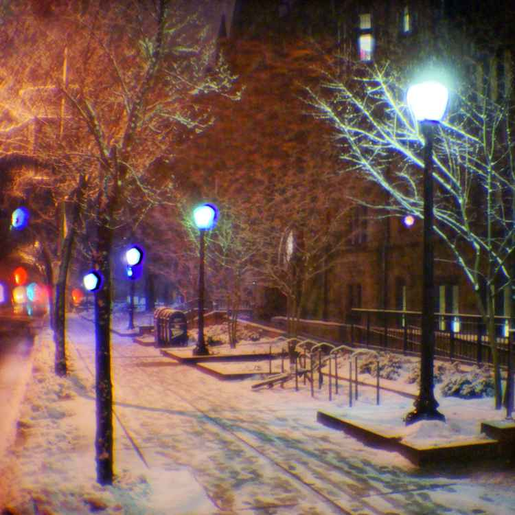Snowing New Haven # 05 © 2010 -