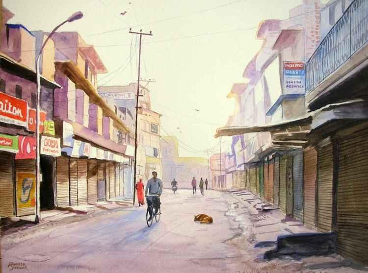 Early Morning, Jodhpur -