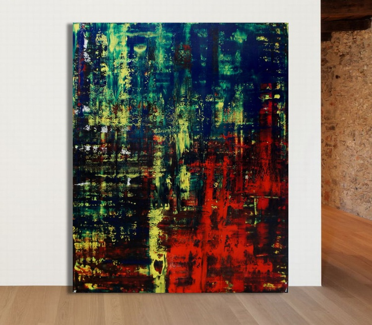 Nagging Thoughts In The Woods (80 x 100 cm) - Image 0