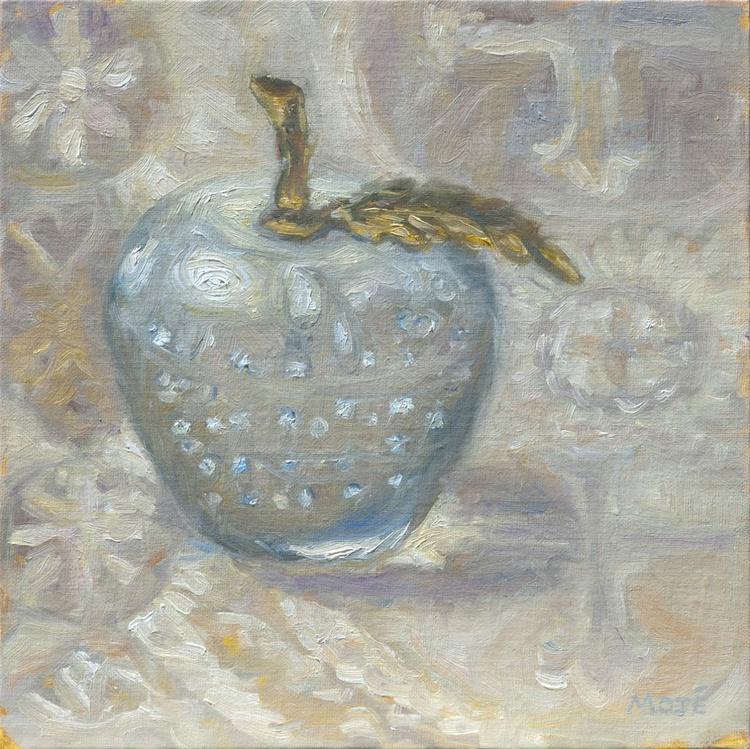 Glass w/Brass Leaf - Image 0