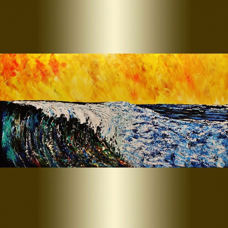 Ocean wave. - Image 0