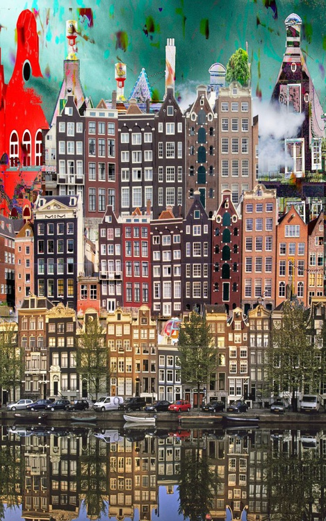 Amsterdam View Opus 67.  Limited edition 6/8. - Image 0