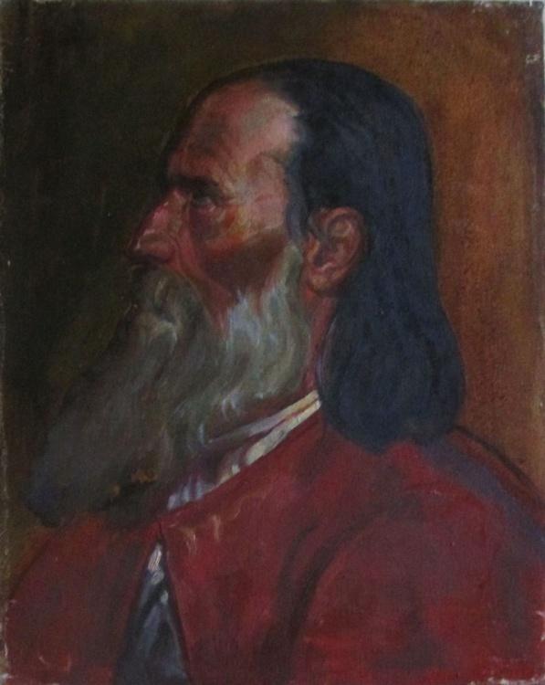 Old man's portrait - Image 0