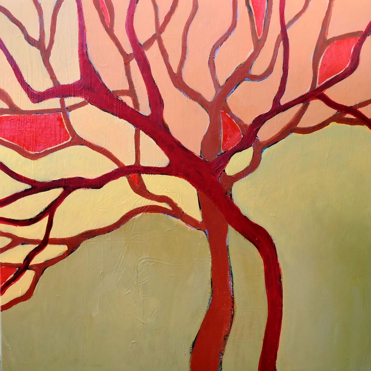 Red Trees. - Image 0