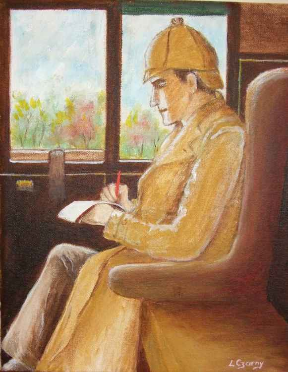 Sherlock Holmes On A Trail -