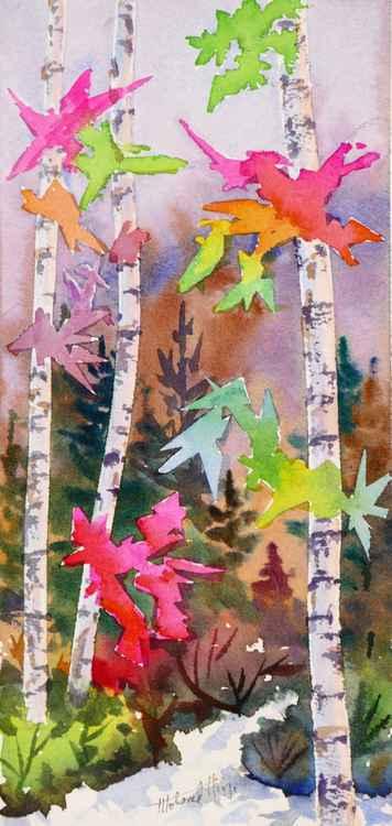 Colourful Birches 1 -
