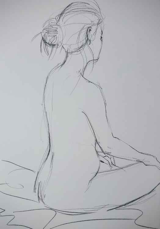 Life Drawing Study No 1
