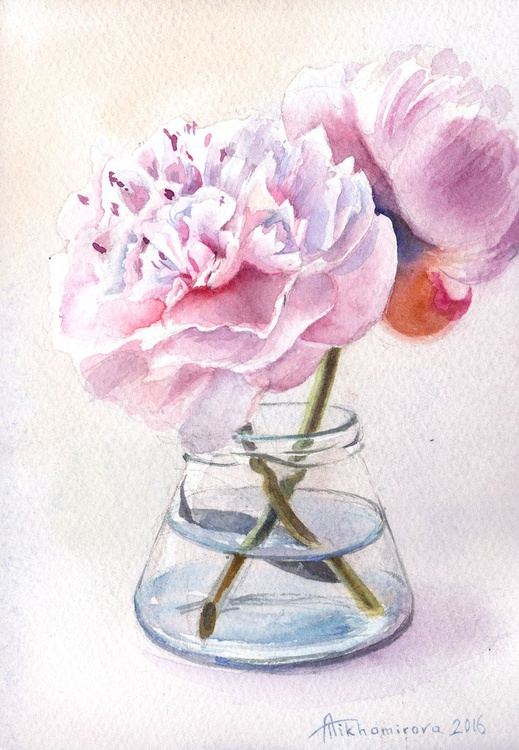 Pink Peonies (Shabby Chic collection) - Image 0
