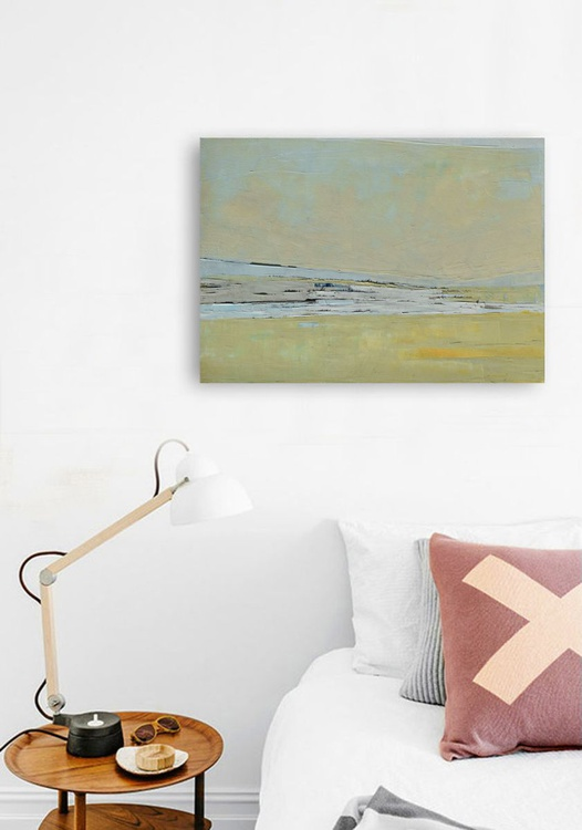 """Original, abstract oil painting """"Sands"""", oil painting on canvas. - Image 0"""