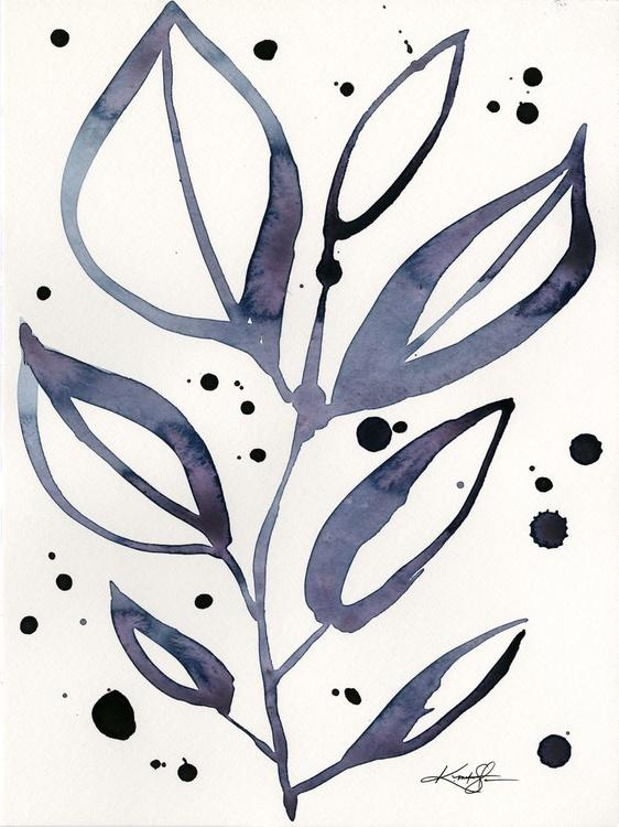 Botanical Joy No. 11 - Watercolor Painting - Image 0