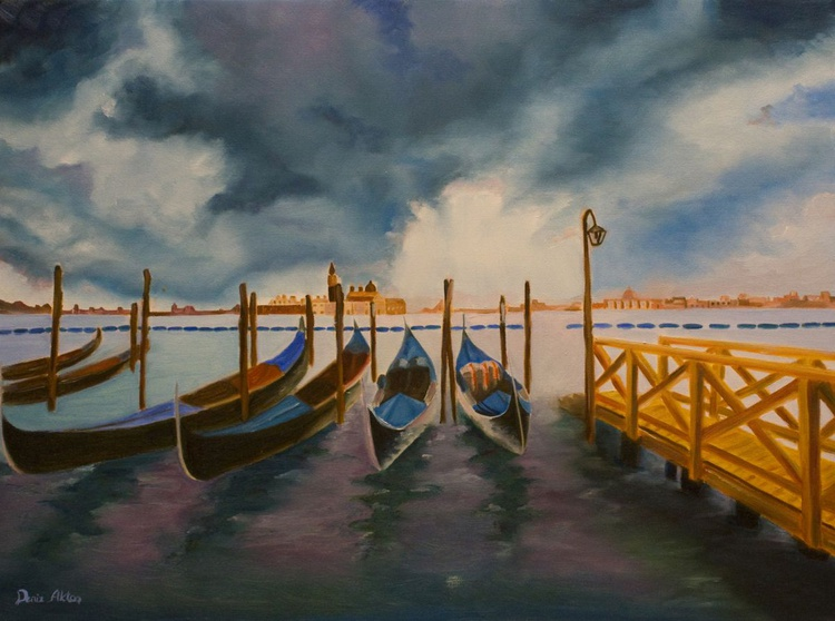 Boats in Venice - Image 0