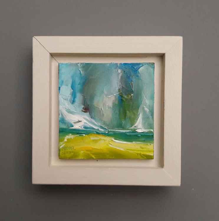'Beach Life' original oil painting by Michael Hemming -
