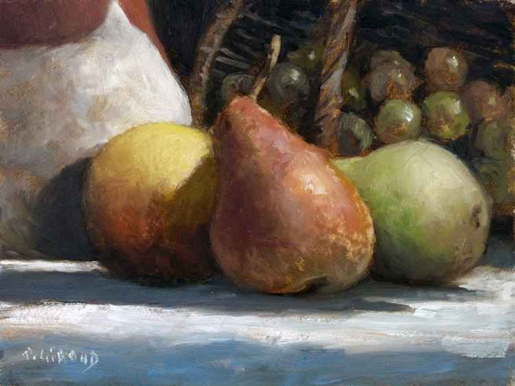 Pears and Bunch of Grapes -
