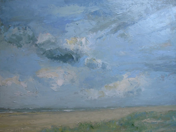 Clouds and Dunes. - Image 0