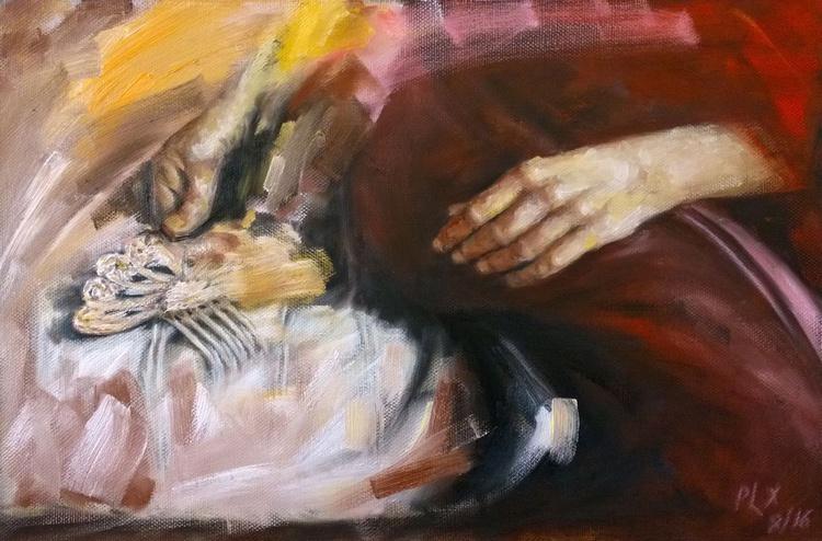 Memories, linen canvas Gallery Quality artwork - Image 0