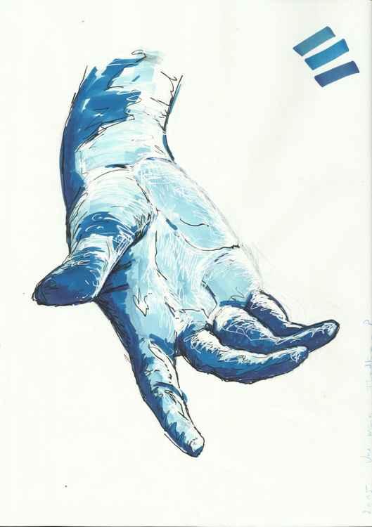 Une main -
