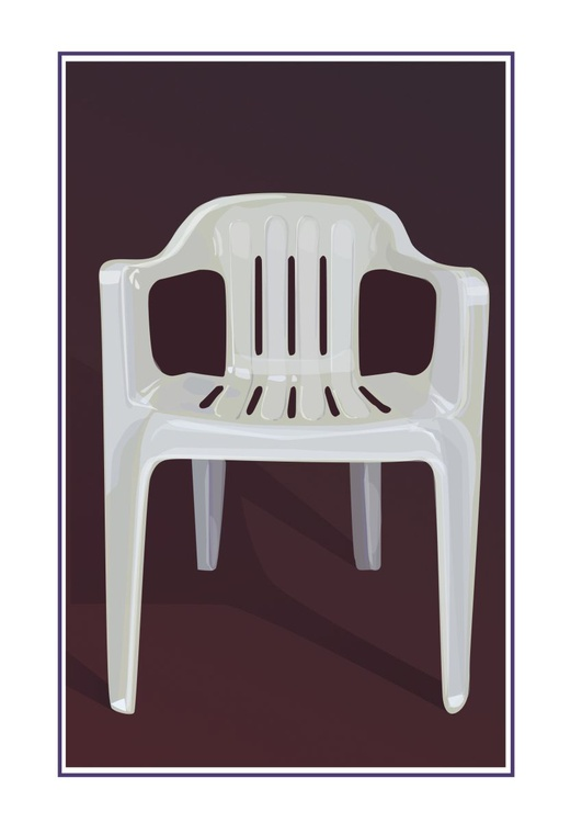 Things Overlooked / PLASTIC CHAIR - Image 0