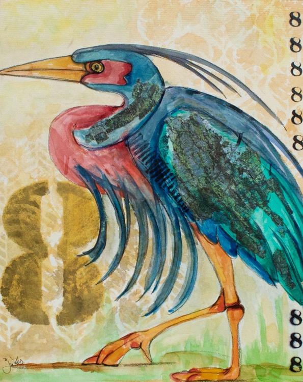 Number 8 Heron - Image 0