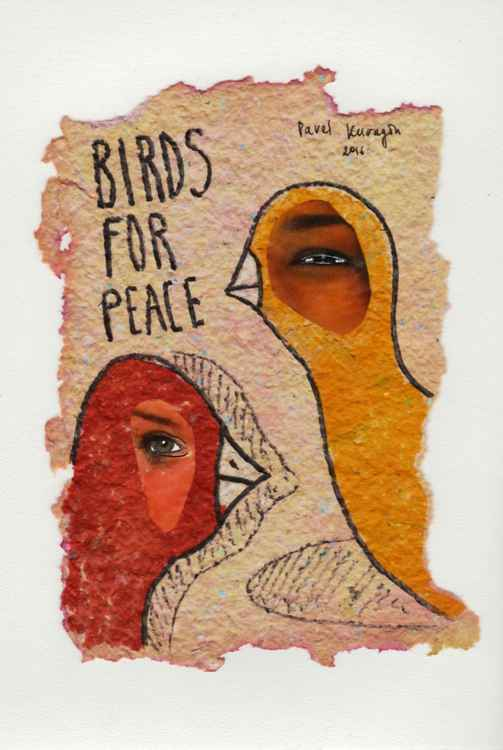 Birds for peace -