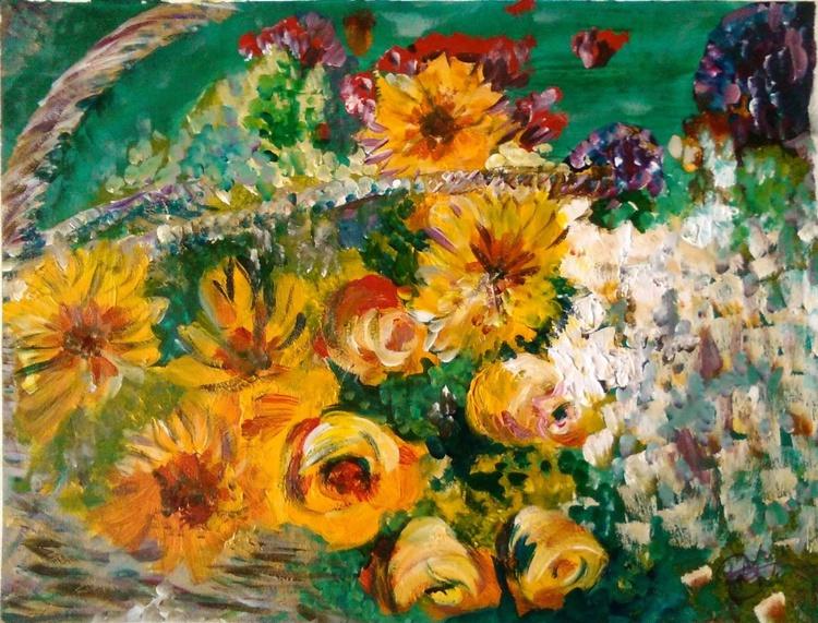Wicker bouquet - Image 0