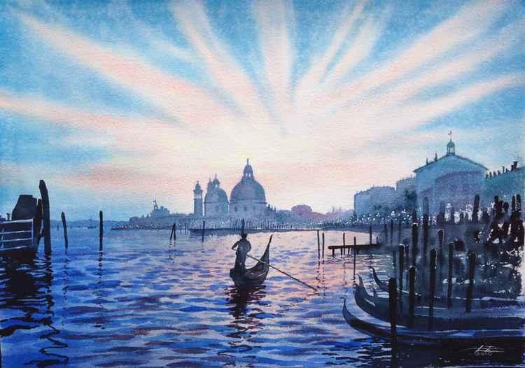 Blue Venice -