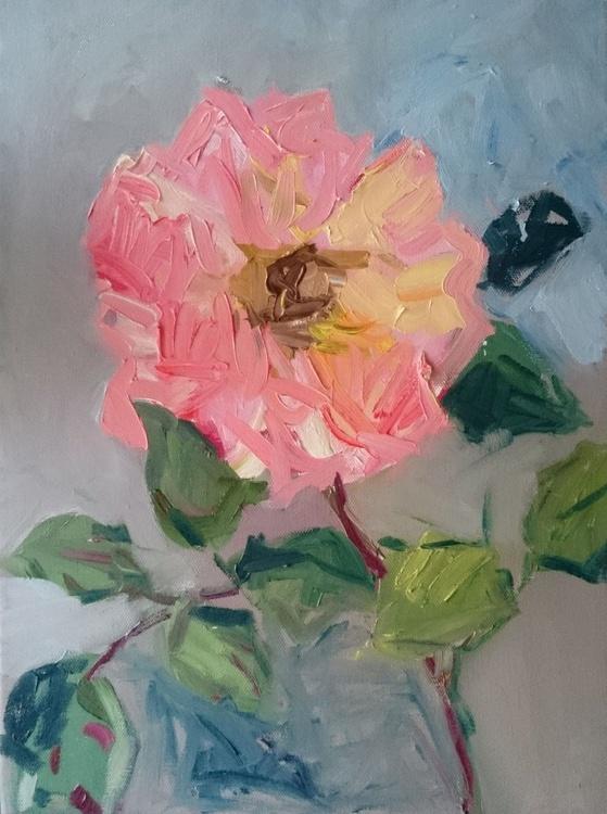 A rose in September. - Image 0