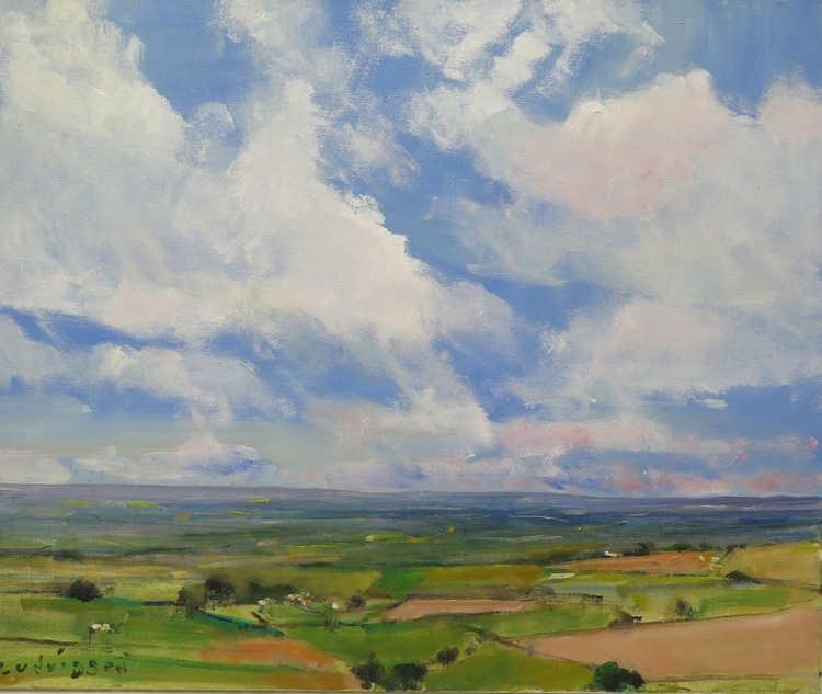 Vale of York from Garrowby Hill - Image 0