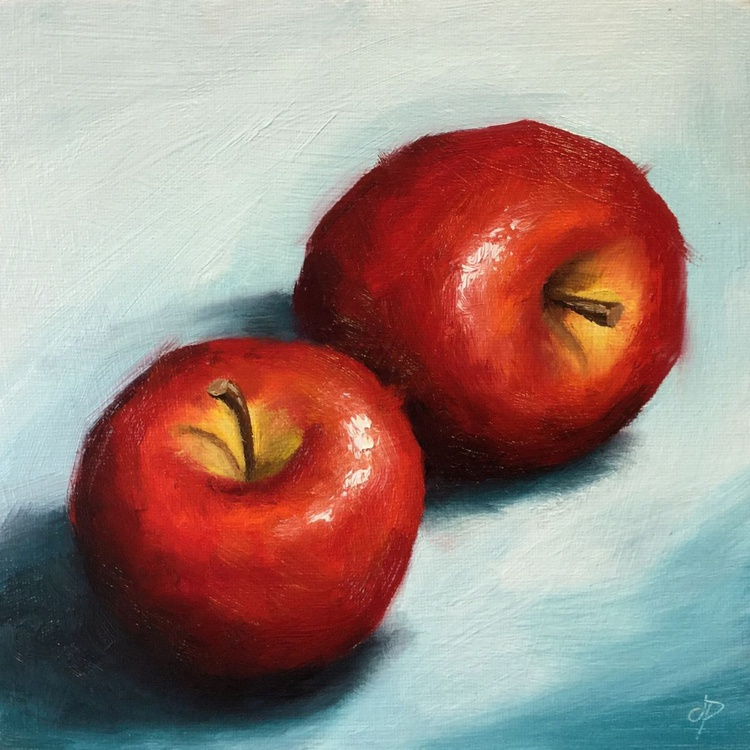 Two  Apples - Image 0