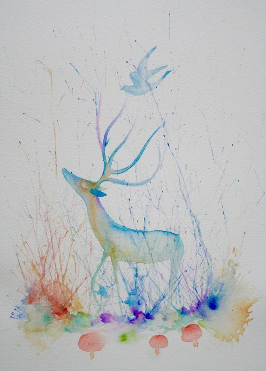 The Deer and the Dove - Image 0