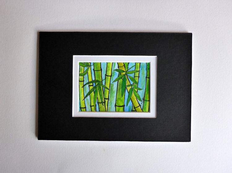 Bamboo (ACEO with Mat) - Image 0