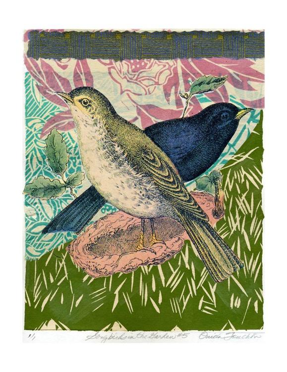 Songbirds in the Garden #5 - Image 0