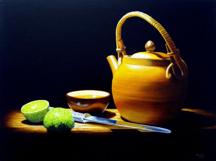 Green tea #5 / FREE Shipping - Image 0