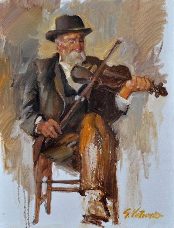 old violinist - Image 0
