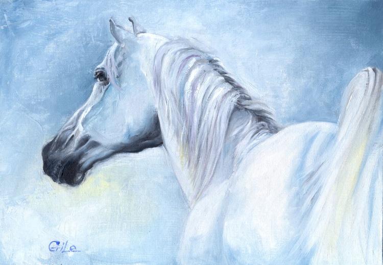 White horse - Image 0