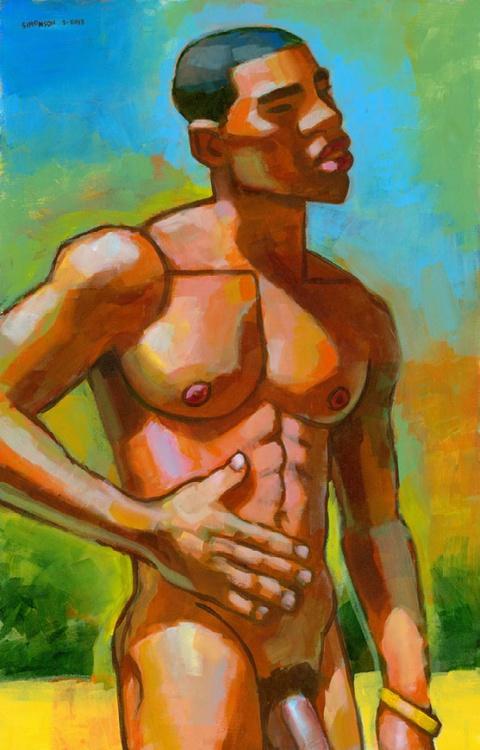 Nude Boy in Bahia - Image 0