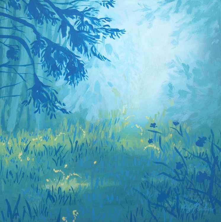 Blue Forest No 5