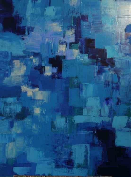 Fractals - Blue -