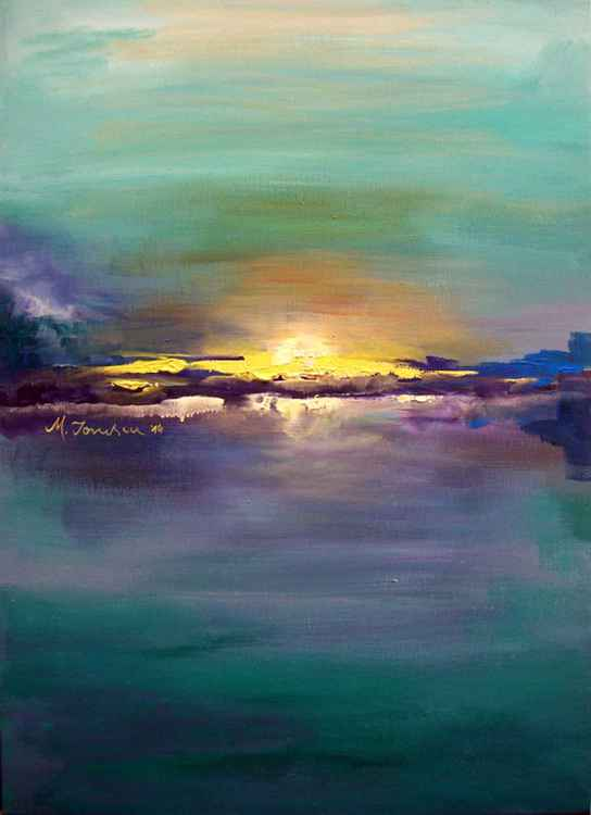 """Blue Sunset"" -"