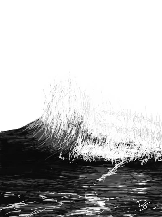 Wave 4 - Drawing - Image 0