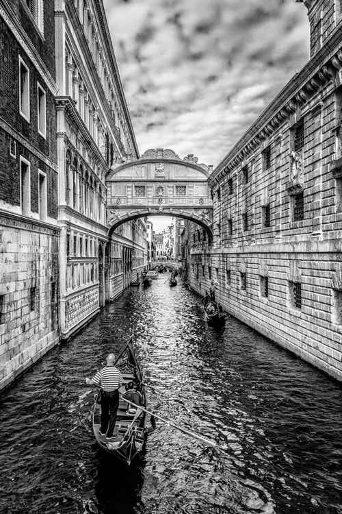 Bridge of Sighs, Venice -