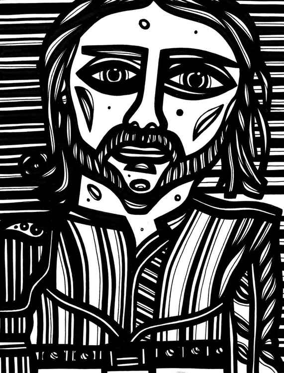 Prince Valiant Original Drawing